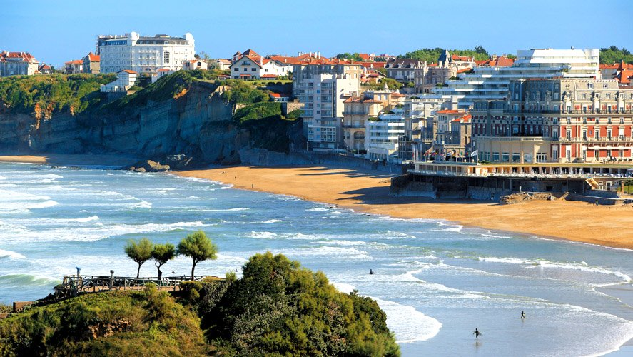 Biarritz - Plages & Phare